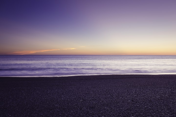 Morning Stillness - A beautiful peaceful dawn at the stony beach near Napier.